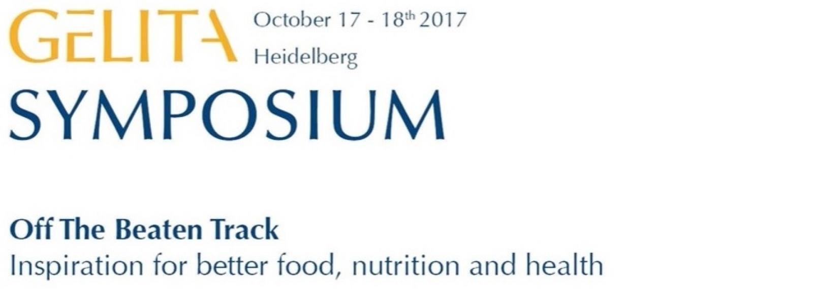 GELITA Symposium Heidelberg 2017